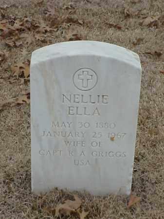 GRIGGS, NELLIE ELLA - Pulaski County, Arkansas   NELLIE ELLA GRIGGS - Arkansas Gravestone Photos