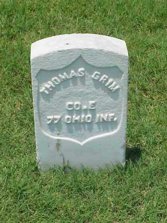 GRIM (VETERAN UNION), THOMAS - Pulaski County, Arkansas | THOMAS GRIM (VETERAN UNION) - Arkansas Gravestone Photos