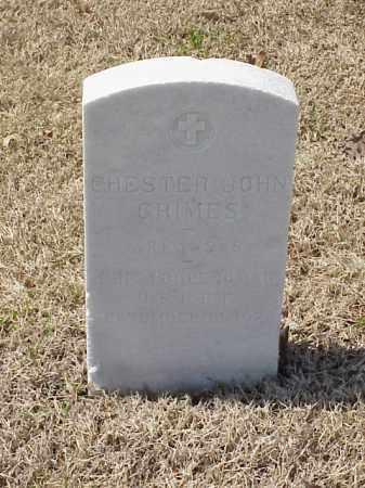 GRIMES (VETERAN WWI), CHESTER JOHN - Pulaski County, Arkansas | CHESTER JOHN GRIMES (VETERAN WWI) - Arkansas Gravestone Photos