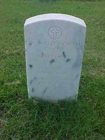 GROSS (VETERAN WWI), W WENTWORTH - Pulaski County, Arkansas | W WENTWORTH GROSS (VETERAN WWI) - Arkansas Gravestone Photos