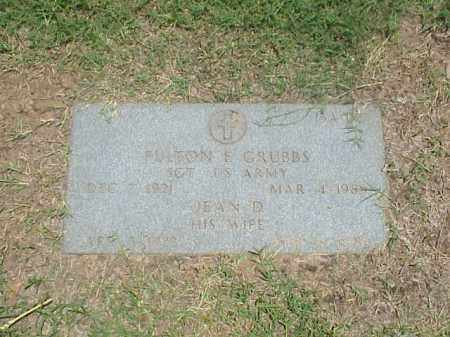 GRUBBS, JEAN D - Pulaski County, Arkansas | JEAN D GRUBBS - Arkansas Gravestone Photos