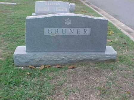 GRUNER FAMILY STONE, . - Pulaski County, Arkansas   . GRUNER FAMILY STONE - Arkansas Gravestone Photos