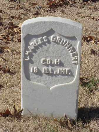 GRUNNERT  (VETERAN UNION), CHARLES - Pulaski County, Arkansas | CHARLES GRUNNERT  (VETERAN UNION) - Arkansas Gravestone Photos