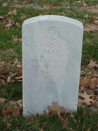 GUESS, ADA MAE - Pulaski County, Arkansas | ADA MAE GUESS - Arkansas Gravestone Photos