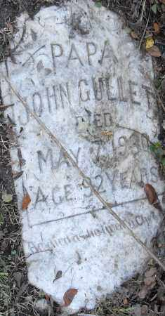GULLET, JOHN - Pulaski County, Arkansas   JOHN GULLET - Arkansas Gravestone Photos