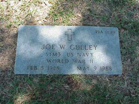 GULLEY (VETERAN WWII), JOE W - Pulaski County, Arkansas | JOE W GULLEY (VETERAN WWII) - Arkansas Gravestone Photos