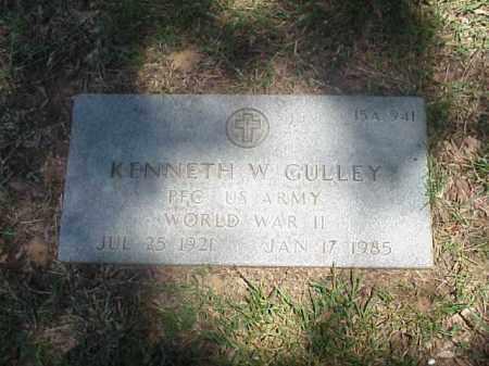 GULLEY VETERAN WWII), KENNETH W - Pulaski County, Arkansas | KENNETH W GULLEY VETERAN WWII) - Arkansas Gravestone Photos