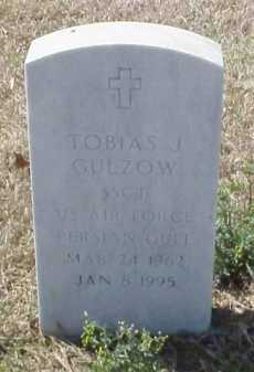 GULZOW (VETERAN PGW), TOBIAS J - Pulaski County, Arkansas   TOBIAS J GULZOW (VETERAN PGW) - Arkansas Gravestone Photos
