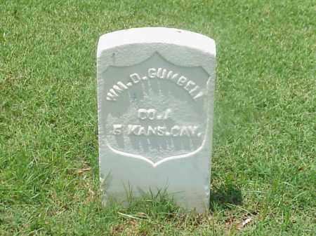 GUMBELL (VETERAN UNION), WILLIAM D - Pulaski County, Arkansas | WILLIAM D GUMBELL (VETERAN UNION) - Arkansas Gravestone Photos