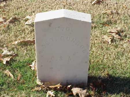 GUNROD  (VETERAN CSA), ROBERT - Pulaski County, Arkansas   ROBERT GUNROD  (VETERAN CSA) - Arkansas Gravestone Photos
