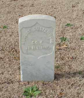 GUSTENBURG  (VETERAN UNION), AUGUST - Pulaski County, Arkansas | AUGUST GUSTENBURG  (VETERAN UNION) - Arkansas Gravestone Photos