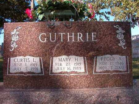 GUTHRIE, MARY H - Pulaski County, Arkansas | MARY H GUTHRIE - Arkansas Gravestone Photos