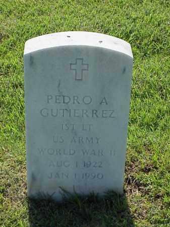 GUTIERREZ (VETERAN WWII), PEDRO A - Pulaski County, Arkansas   PEDRO A GUTIERREZ (VETERAN WWII) - Arkansas Gravestone Photos