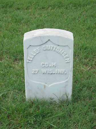GUTTOMSEN (VETERAN UNION), TELLEF - Pulaski County, Arkansas | TELLEF GUTTOMSEN (VETERAN UNION) - Arkansas Gravestone Photos