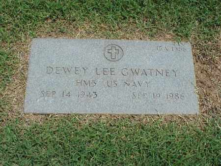 GWATNEY (VETERAN), DEWEY LEE - Pulaski County, Arkansas   DEWEY LEE GWATNEY (VETERAN) - Arkansas Gravestone Photos