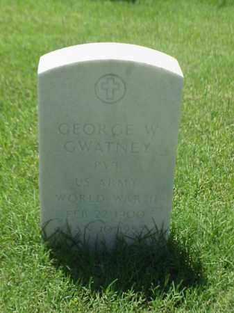 GWATNEY (VETERAN WWII), GEORGE W - Pulaski County, Arkansas | GEORGE W GWATNEY (VETERAN WWII) - Arkansas Gravestone Photos