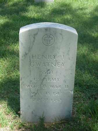 GWATNEY (VETERAN WWII), HENRY J - Pulaski County, Arkansas | HENRY J GWATNEY (VETERAN WWII) - Arkansas Gravestone Photos