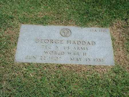 HADDAD (VETERAN WWII), GEORGE - Pulaski County, Arkansas | GEORGE HADDAD (VETERAN WWII) - Arkansas Gravestone Photos