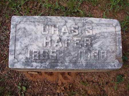 HAFER, CHARLES S - Pulaski County, Arkansas   CHARLES S HAFER - Arkansas Gravestone Photos