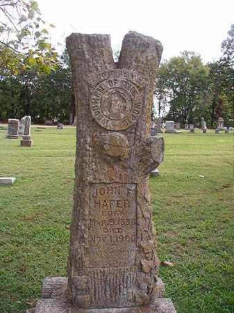 HAFER, JOHN F - Pulaski County, Arkansas | JOHN F HAFER - Arkansas Gravestone Photos