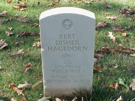 HAGEDORN  (VETERAN WWI), BERT DISHER - Pulaski County, Arkansas | BERT DISHER HAGEDORN  (VETERAN WWI) - Arkansas Gravestone Photos