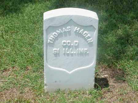 HAGEN (VETERAN UNION), THOMAS - Pulaski County, Arkansas | THOMAS HAGEN (VETERAN UNION) - Arkansas Gravestone Photos