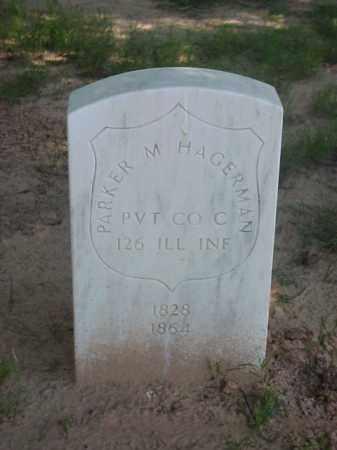 HAGERMAN (VETERAN UNION), PARKER M - Pulaski County, Arkansas   PARKER M HAGERMAN (VETERAN UNION) - Arkansas Gravestone Photos