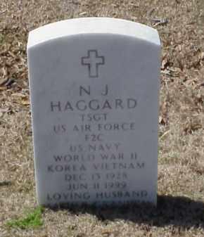 HAGGARD (VETERAN 3 WARS), N J - Pulaski County, Arkansas | N J HAGGARD (VETERAN 3 WARS) - Arkansas Gravestone Photos