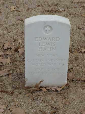 HAHN (VETERAN WWII), EDWARD LEWIS - Pulaski County, Arkansas   EDWARD LEWIS HAHN (VETERAN WWII) - Arkansas Gravestone Photos