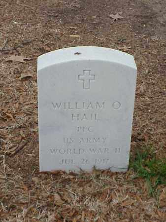 HAIL (VETERAN WWII), WILLIAM O - Pulaski County, Arkansas | WILLIAM O HAIL (VETERAN WWII) - Arkansas Gravestone Photos