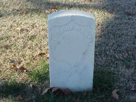 HAINKER  (VETERAN UNION), FREDERICK - Pulaski County, Arkansas   FREDERICK HAINKER  (VETERAN UNION) - Arkansas Gravestone Photos