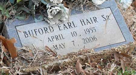 HAIR SR, BUFORD EARL - Pulaski County, Arkansas | BUFORD EARL HAIR SR - Arkansas Gravestone Photos