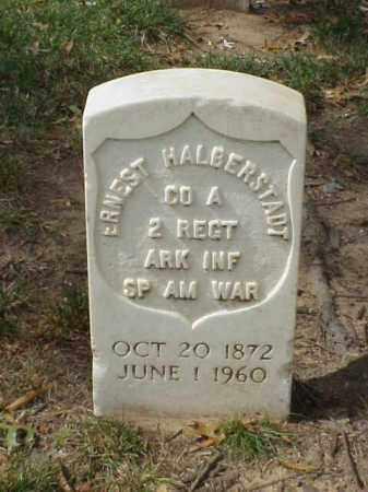 HALBERSTADT  (VETERAN SAW), ERNEST - Pulaski County, Arkansas   ERNEST HALBERSTADT  (VETERAN SAW) - Arkansas Gravestone Photos
