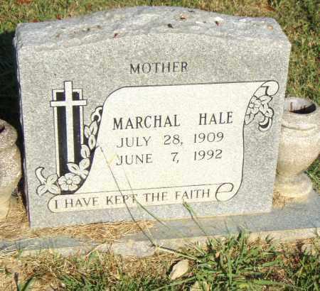 HALE, MARCHAL - Pulaski County, Arkansas | MARCHAL HALE - Arkansas Gravestone Photos
