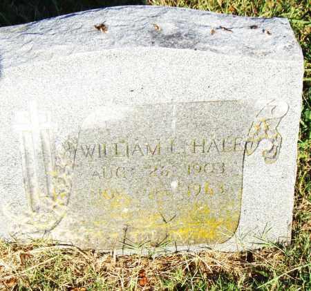 HALE, WILLIAM L. - Pulaski County, Arkansas | WILLIAM L. HALE - Arkansas Gravestone Photos