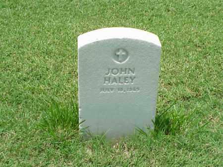 HALEY, JOHN - Pulaski County, Arkansas | JOHN HALEY - Arkansas Gravestone Photos