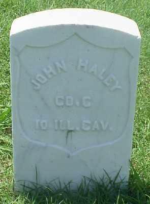 HALEY (VETERAN UNION), JOHN - Pulaski County, Arkansas   JOHN HALEY (VETERAN UNION) - Arkansas Gravestone Photos