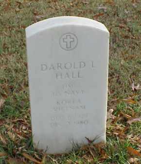 HALL  (VETERAN 2 WARS), DAROLD L - Pulaski County, Arkansas | DAROLD L HALL  (VETERAN 2 WARS) - Arkansas Gravestone Photos