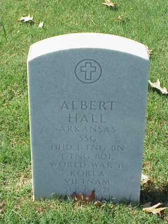 HALL  (VETERAN 3 WARS), ALBERT - Pulaski County, Arkansas | ALBERT HALL  (VETERAN 3 WARS) - Arkansas Gravestone Photos