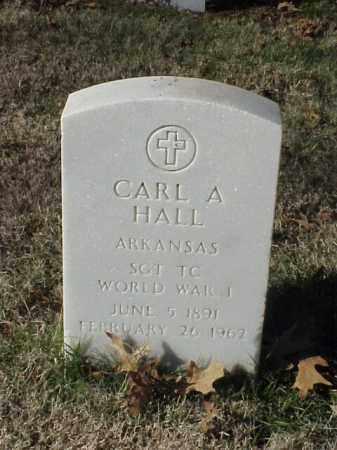 HALL  (VETERAN WWI), CARL A - Pulaski County, Arkansas   CARL A HALL  (VETERAN WWI) - Arkansas Gravestone Photos