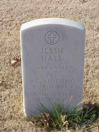 HALL  (VETERAN WWI), JESSIE - Pulaski County, Arkansas   JESSIE HALL  (VETERAN WWI) - Arkansas Gravestone Photos