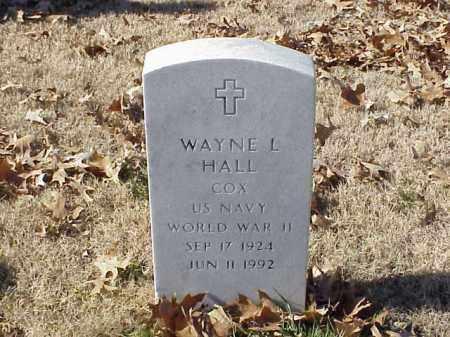 HALL  (VETERAN WWII), WAYNE L - Pulaski County, Arkansas | WAYNE L HALL  (VETERAN WWII) - Arkansas Gravestone Photos