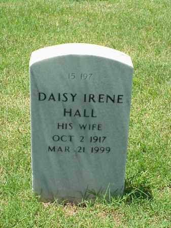 HALL, DAISY IRENE - Pulaski County, Arkansas | DAISY IRENE HALL - Arkansas Gravestone Photos