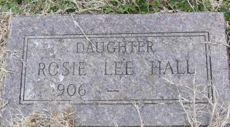 LEE HALL, ROSIE - Pulaski County, Arkansas | ROSIE LEE HALL - Arkansas Gravestone Photos