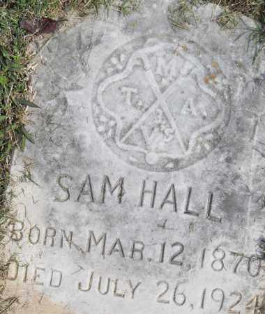 HALL, SAM - Pulaski County, Arkansas | SAM HALL - Arkansas Gravestone Photos