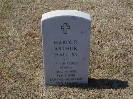 HALL, SR (VETERAN KOR), HAROLD ARTHUR - Pulaski County, Arkansas   HAROLD ARTHUR HALL, SR (VETERAN KOR) - Arkansas Gravestone Photos