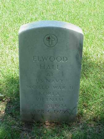HALL (VETERAN 3 WARS), ELWOOD - Pulaski County, Arkansas | ELWOOD HALL (VETERAN 3 WARS) - Arkansas Gravestone Photos