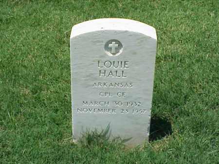 HALL (VETERAN), LOUIE - Pulaski County, Arkansas | LOUIE HALL (VETERAN) - Arkansas Gravestone Photos