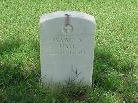 HALL (VETERAN UNION), ISSAC A - Pulaski County, Arkansas | ISSAC A HALL (VETERAN UNION) - Arkansas Gravestone Photos