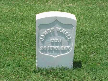 HALL (VETERAN UNION), JAMES W - Pulaski County, Arkansas | JAMES W HALL (VETERAN UNION) - Arkansas Gravestone Photos